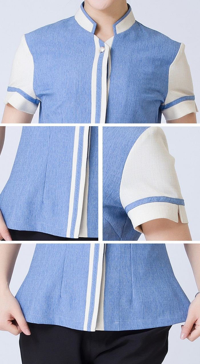 Thiết kế đồng phục đẹp, phối màu sáng tạo