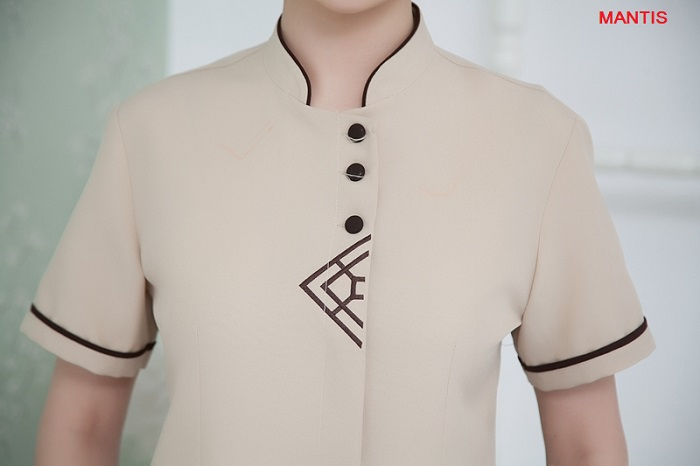 Thiết kế đồng phục buồng phòng resort đẹp