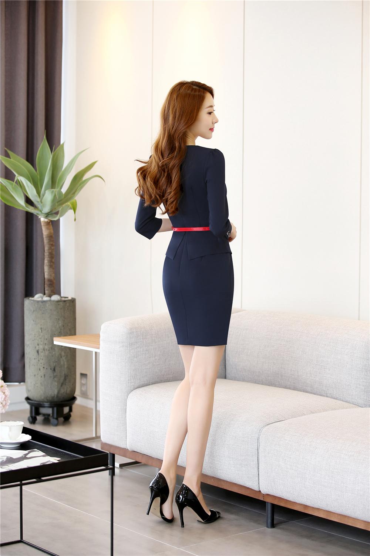 set đồng phục công sở nữ đẹp 2017 - đồng phục ký giả nữ