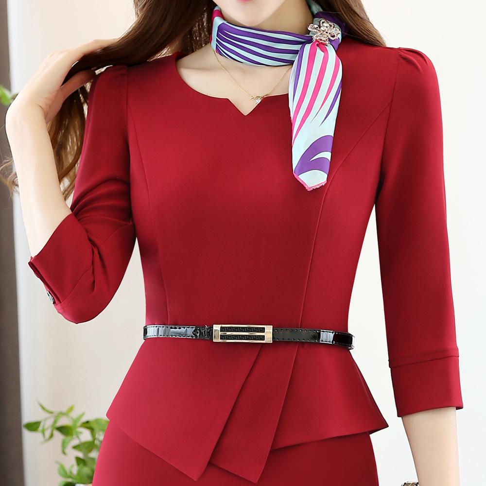 set đồng phục công sở nữ đẹp 2017 - đồng phục ký giả nữ 3