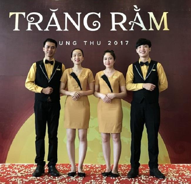 Đồng phục nhân viên nhà hàng khách sạn Mường Thanh