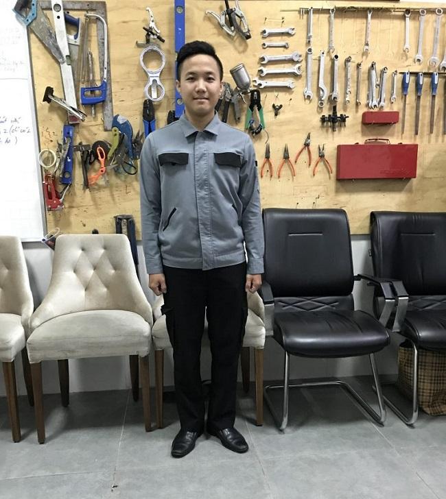 Đồng phục nhân viên kỹ thuật nhà hàng khách sạn của hệ thống Mường Thanh.