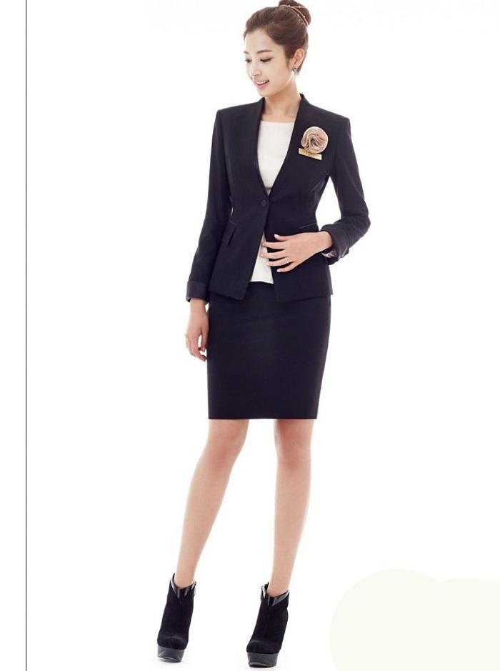 Mẫu đồng phục áo vest nữ đẹp nhất.