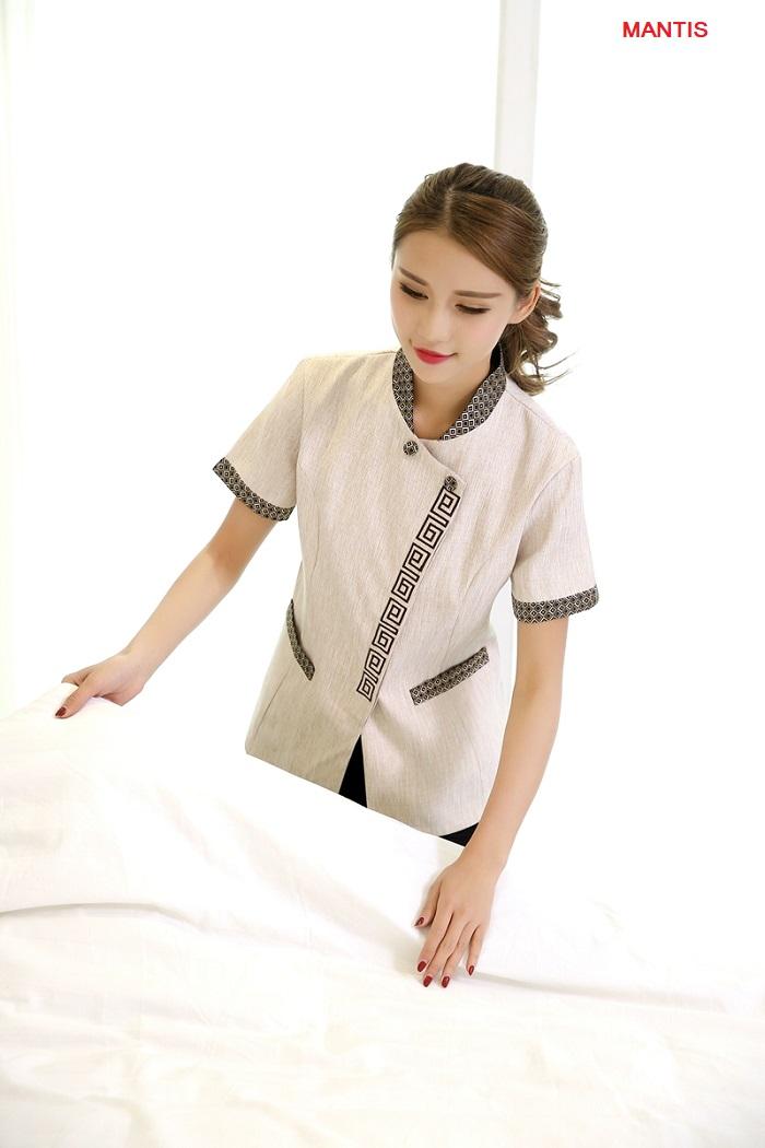Đồng phục nhân viên buồng phòng