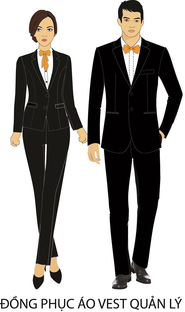 Mẫu thiết kế đồng phục nhà hàng khách sạn