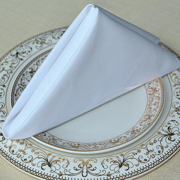 khăn ăn nhà hàng khách sạn mầu trắng đẹp