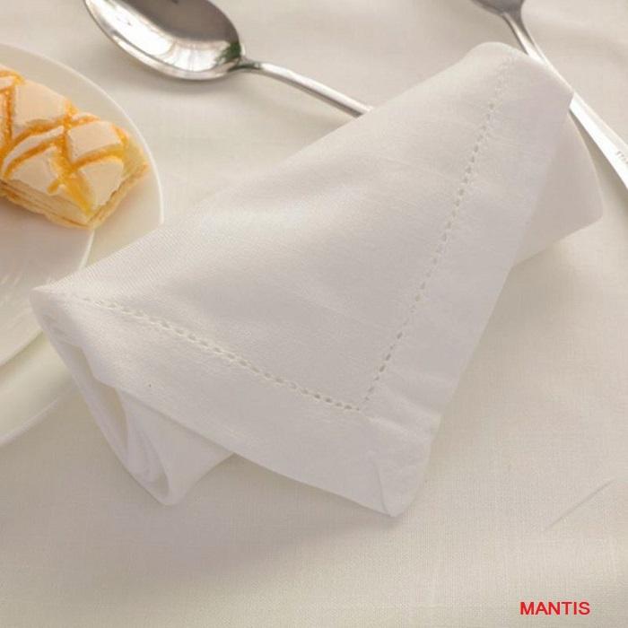 Mẫu khăn ăn nhà hàng napkin đẹp, giá rẻ