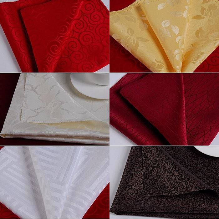 Mẫu khăn ăn napkin cho nhà hàng khách sạn