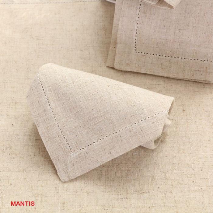 Khăn ăn napkin được làm từ vải lanh 100%
