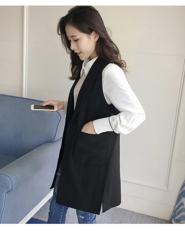 Gile dáng dài nữ quả thực rất dễ kết hợp. Ngay cả với sooc, tshirt, cô nàng tạo nên một phong cách cá tính cho trang phục dạo phố.