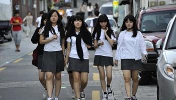 Quá trình hình thành và phát triển đồng phục học sinh Hàn Quốc