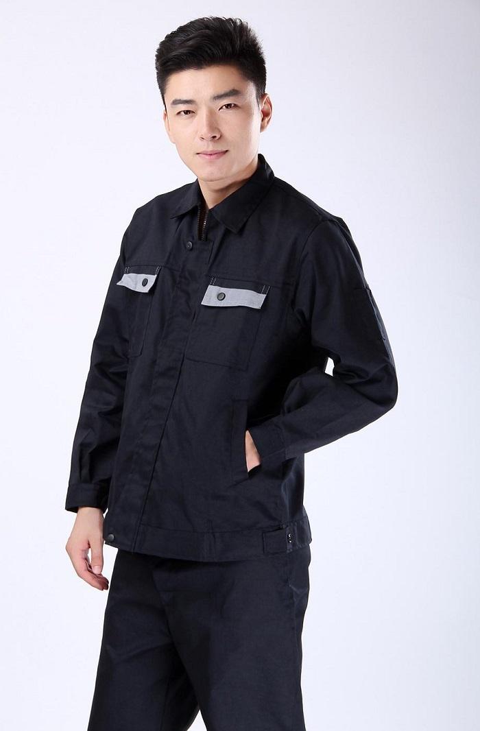 Mẫu quần áo công nhân đẹp