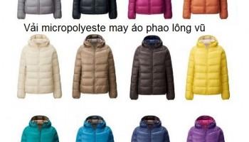 Gợi ý may đồng phục áo khoác gió đẹp, rẻ tại hà nội