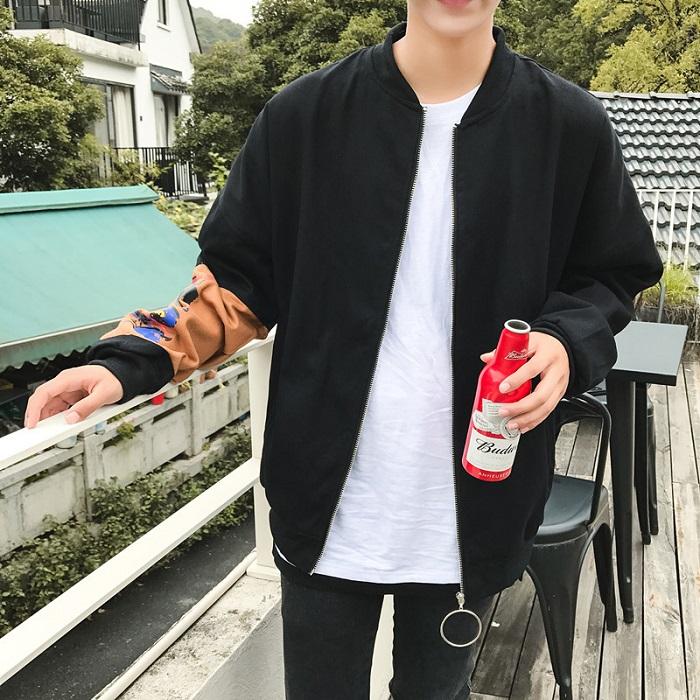 Áo khoác học sinh Hàn Quốc phong cách bomber