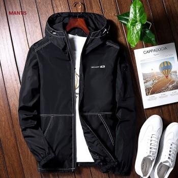 Đồng phục áo khoác học sinh nam màu đen