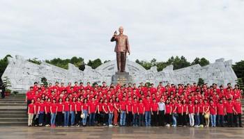 Đồng phục áo phông sự kiện do Mantis sản xuất cho viện dầu khí việt nam. ảnh 4