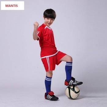 Quần áo bóng đá trẻ em màu đỏ