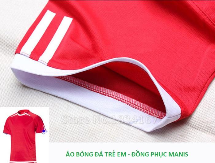 Hình ảnh chi tiết quần áo bóng đá trẻ em