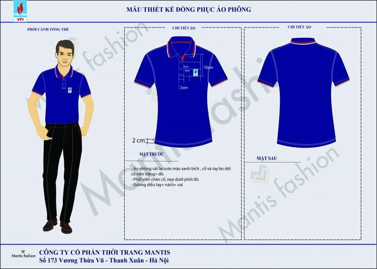 thiết kế đồng phục áo phông sự kiện petrolimex