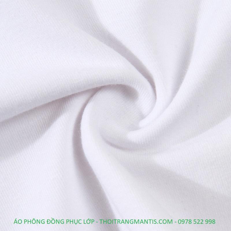 Chất vải may áo phông mềm mại, thoáng mát