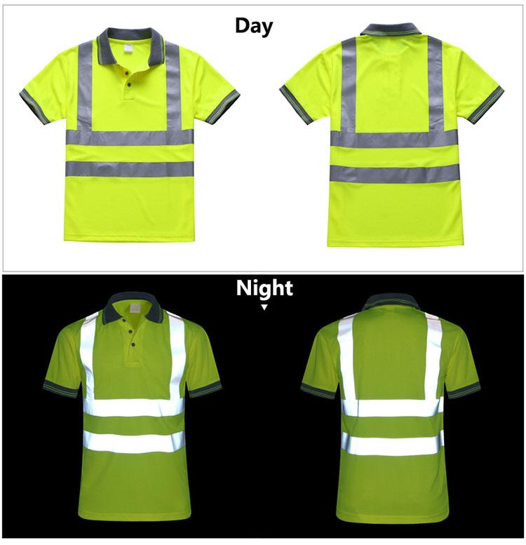 áo phông công nhân công trường và kho hàng