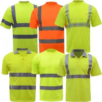 áo phông công nhân và quản lý kho
