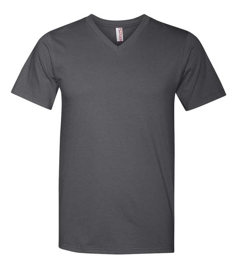 Áo phông cổ tim có xu hướng gợi cảm hơn các loại áo thun khác