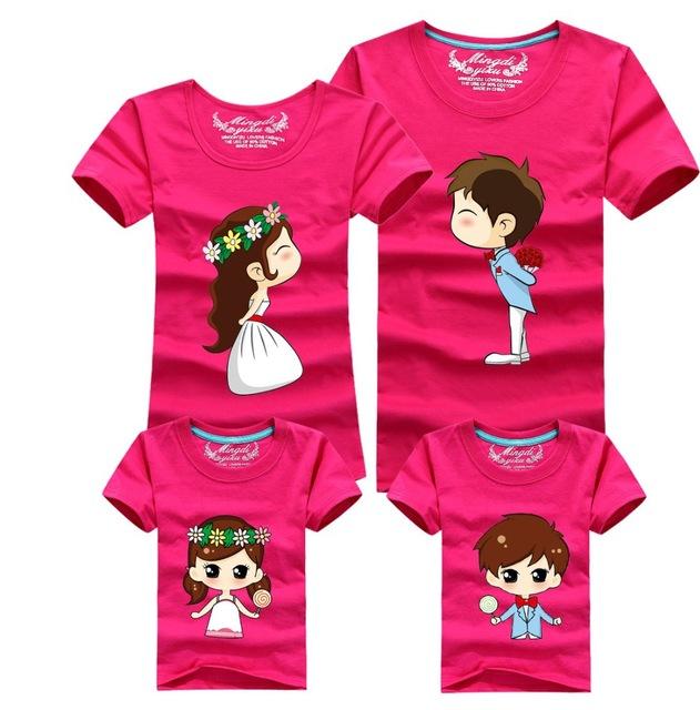Set áo thun gia đình cực đáng yêu
