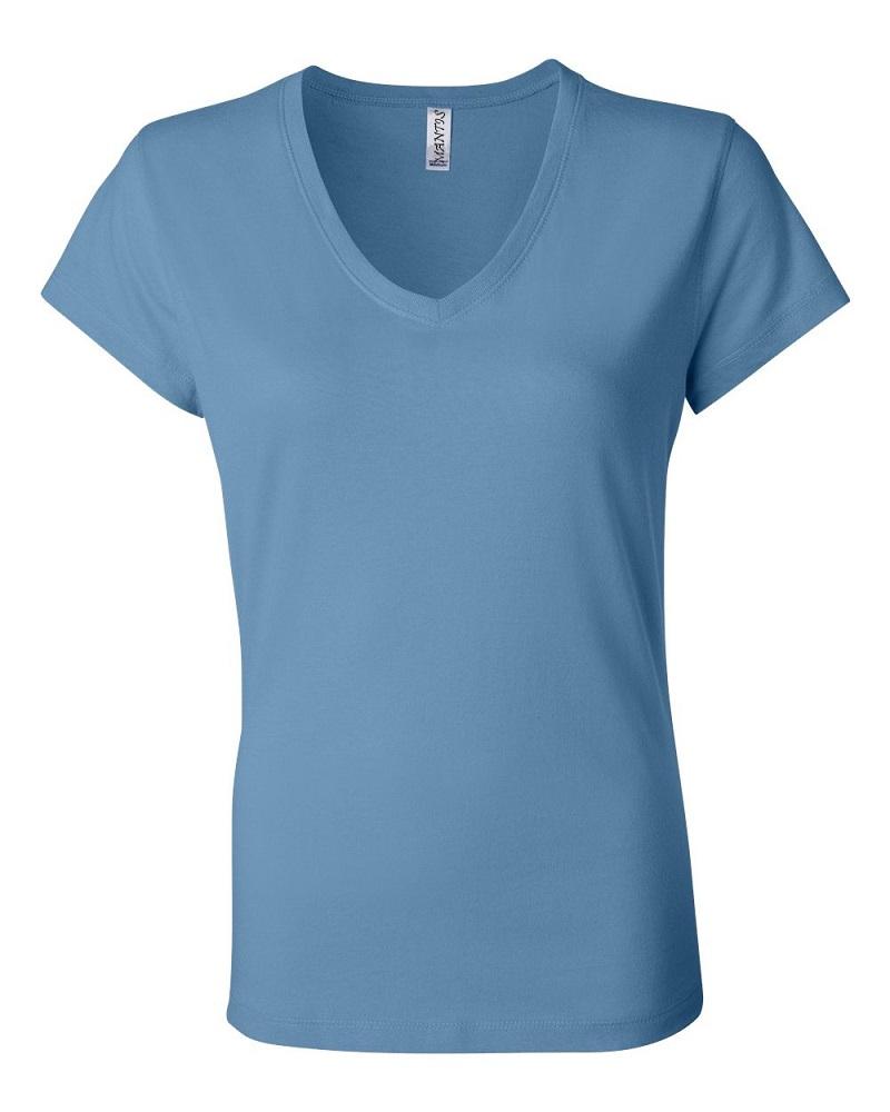 Thiết kế áo phông cổ tim thời trang, nữ tính