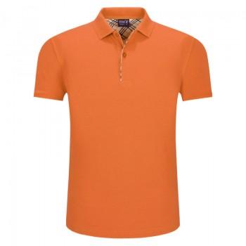 Áo phông đồng phục công sở màu cam
