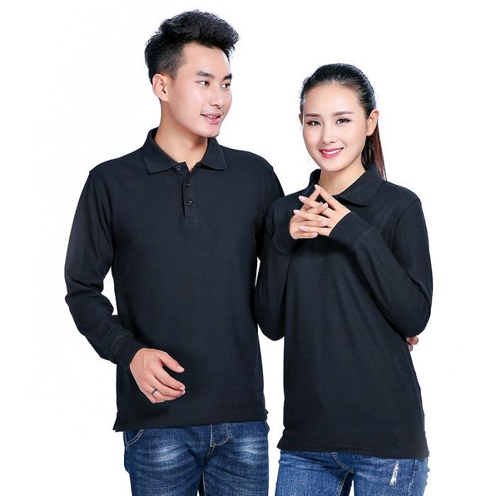 Áo phông đồng phục công sở màu đen