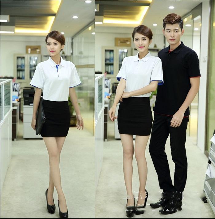 Áo phông đồng phục công sở đẹp
