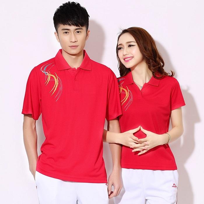 Áo phông đồng phục công sở phong cách thể thao