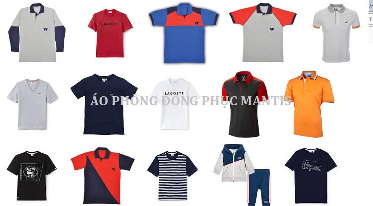 Các loại áo phông đồng phục