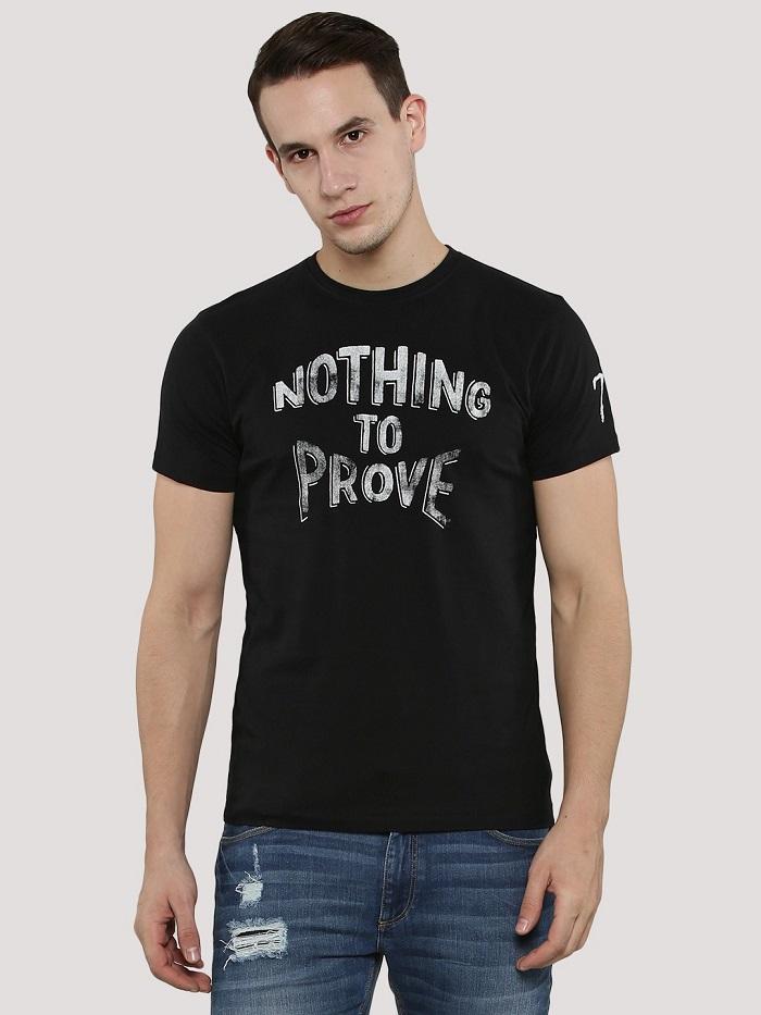 Áo phông in slogan