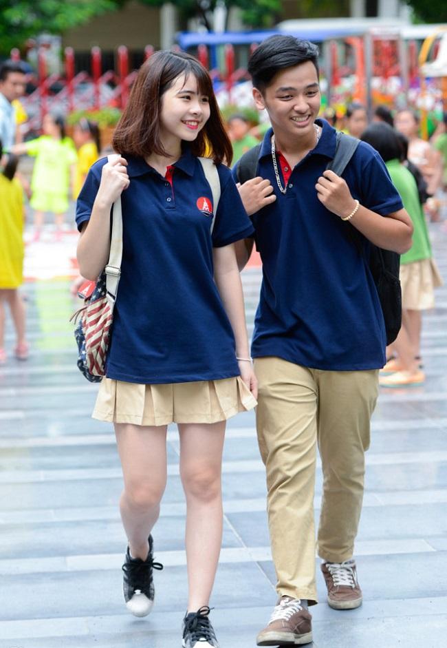Đồng phục học sinh phong cách Hàn Quốc