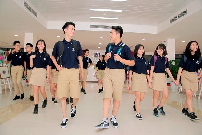Đồng phục học sinh trường trung học Vinschool