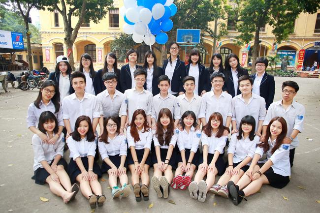 Đồng phục học sinh trường Phan Đình Phùng