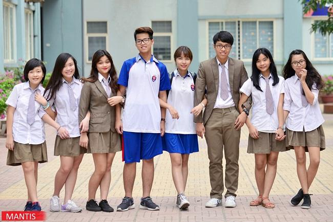 Những mẫu đồng phục học sinh trường Việt Úc