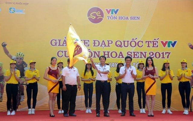 Giải đua xe đạp quốc tế VTV Cúp Tôn Hoa Sen6