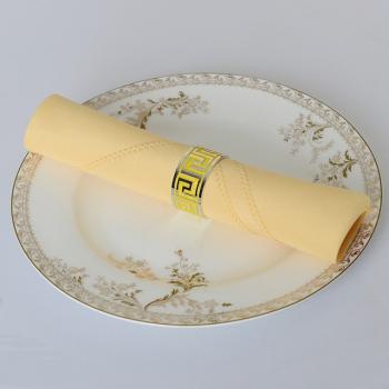 Khăn napkin kích thước 50×50 dùng cho tiệc cưới, nhà hàng, khách sạn