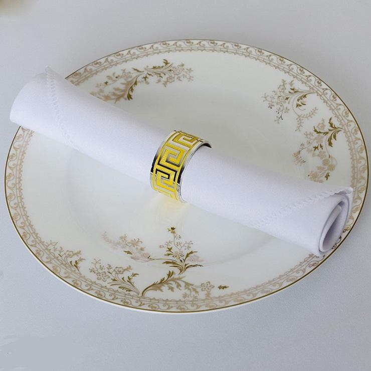 Khăn napkin màu trắng