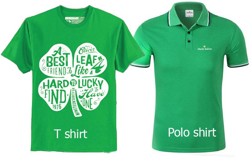 Phân biệt áo tshirt và poloshirt