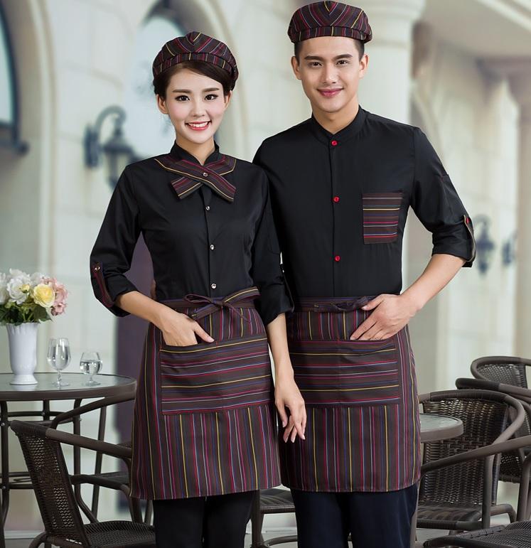 đồng phục đẹp cho quán cà phê