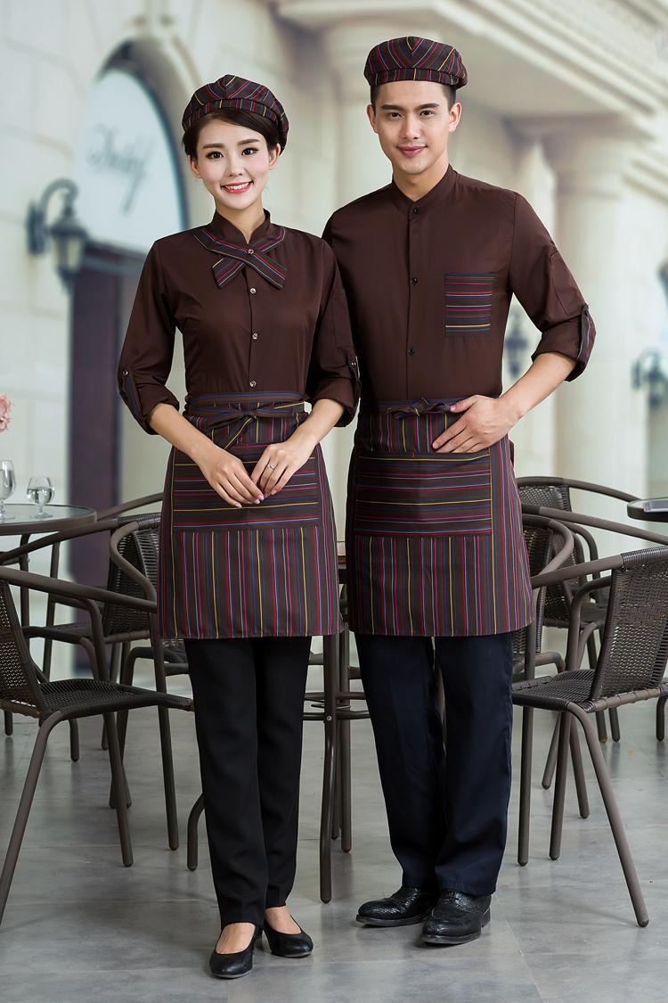 đồng phục nhân viên phục vụ quán cà phê