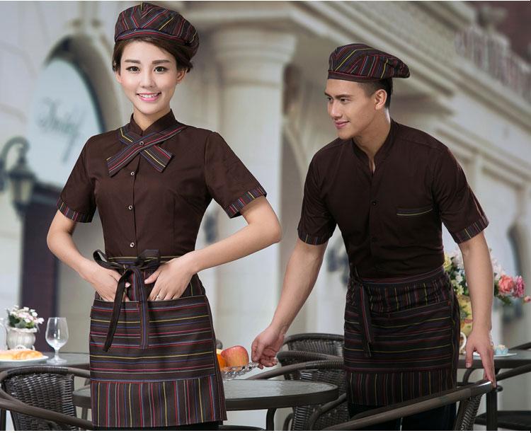 may đồng phục nhân viên nhà hàng tại hà nội
