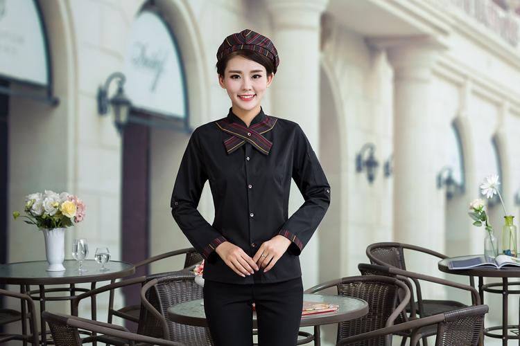 đồng phục quán cà phê nữ