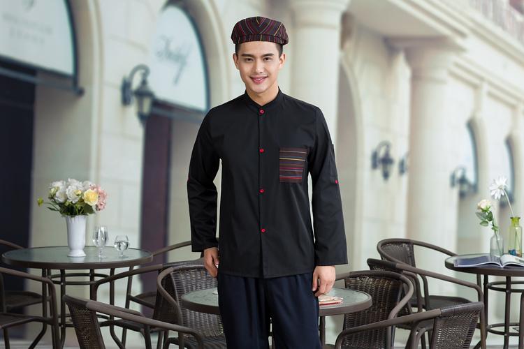 mẫu đồng phục quán cà phên mầu đen