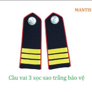 cầu vai áo bảo vệ 3 sọc