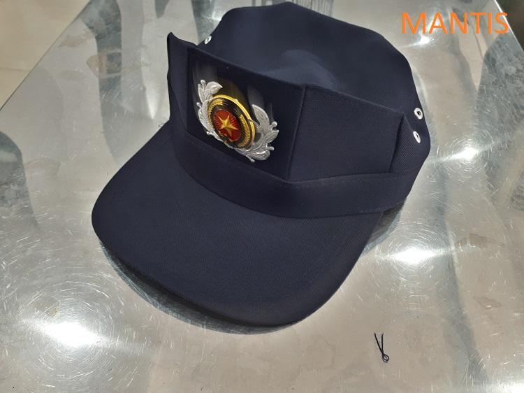 Mũ bảo vệ xanh tím than